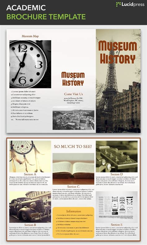 Lucidpress Brochure Templates | 1000 images about lucidpress templates brochures on