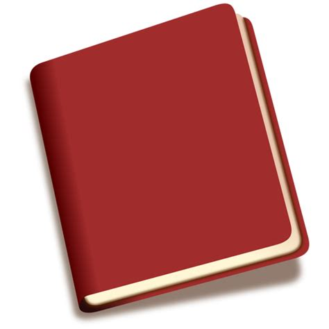 libro the red notebook thin book clipart explore pictures