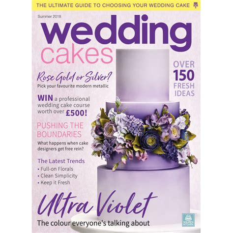 Wedding Cakes Magazine by Wedding Cakes Magazine Summer 2018 Squires Kitchen Shop