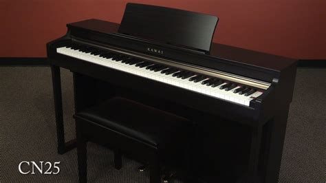 Digital Piano Kawai Cn25 Rosewood kawai cn25 digital piano demo