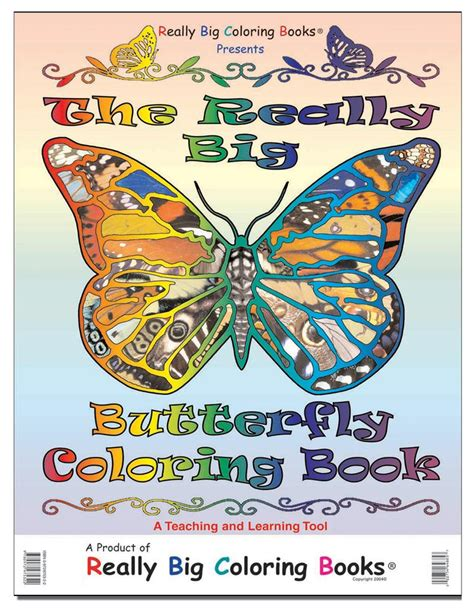 butterfly colors books coloring books vintage the really big butterfly coloring
