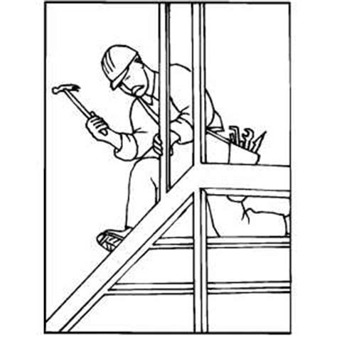Construction Worker Coloring Page Construction Worker Coloring Sheet Bed Mattress Sale by Construction Worker Coloring Page