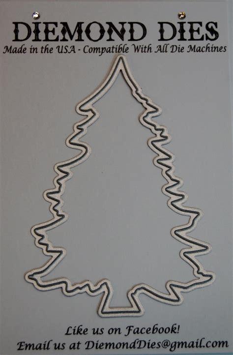 diemond dies christmas tree die diemonddies com