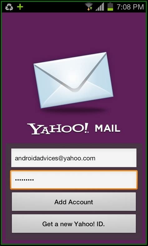 Search Email Id In Yahoo Yahoo Mail Android App Manage Accounts With Push Notifications