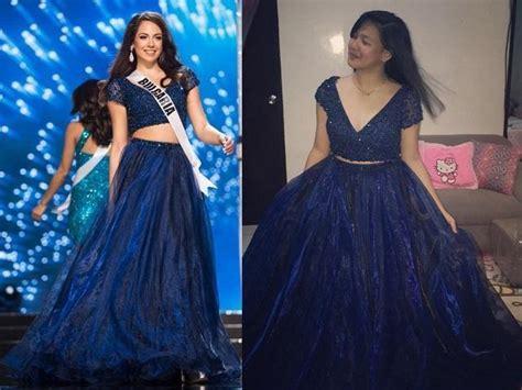 design gaun prom night remaja filipina yang beruntung ini akan ke prom night