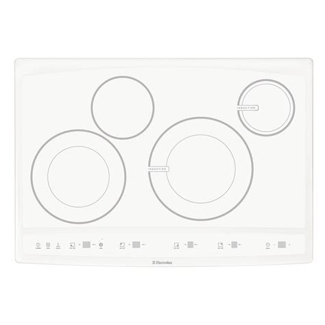 30 Induction Cooktop Electrolux Ew30cc55gw 30 Quot Induction Hybrid Cooktop