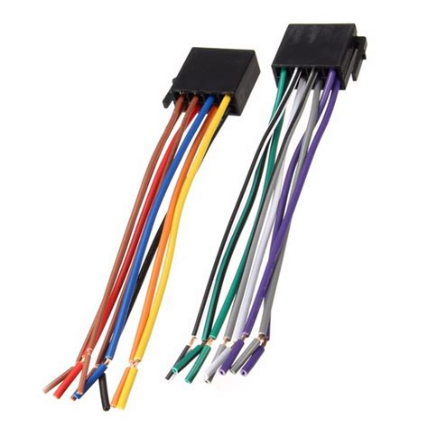 universal wire harness adapter connector cable radio