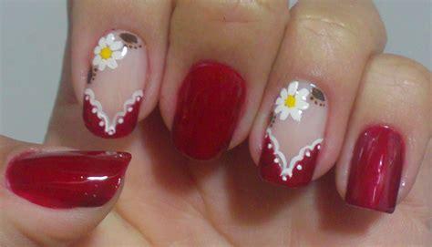 nägel blumen unhas decoradas flores passo a passo site de beleza