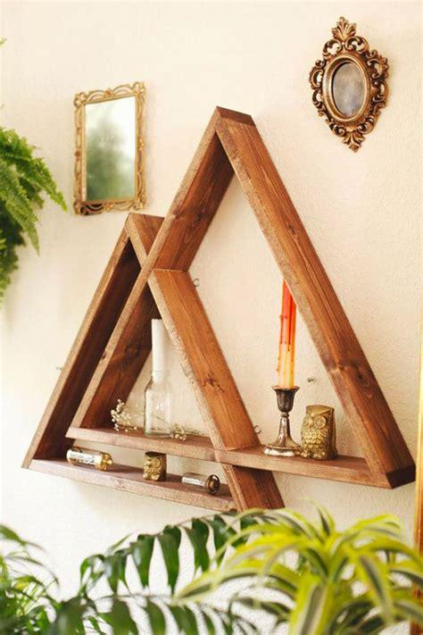 idee per mensole mensole fai da te in legno 20 semplici idee originali e