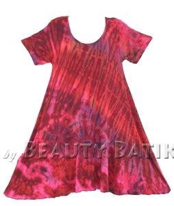 Batik Sarimbit Dress Hem M Xl womens boho hippie batik tie dyetunic blouse kaftan top m l 1x 2x 3x 4x 22 24