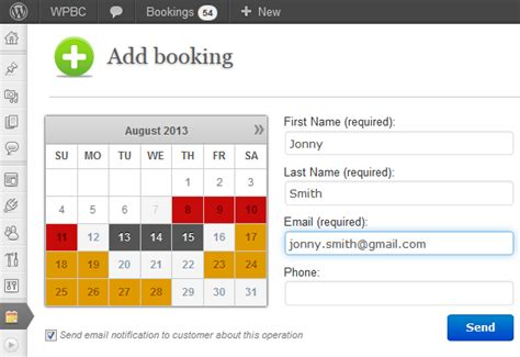 Booking Calendar 301 Moved Permanently