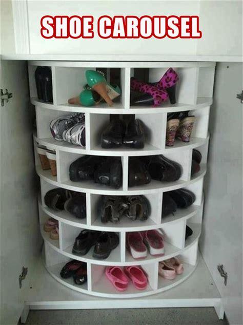 lazy susan organizer ideas shoe rack lazy susan smart idea dump a day
