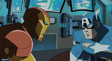 Mainan Heroes Assemle Captain America Iron image iron and captain america png the earth s mightiest heroes wiki fandom
