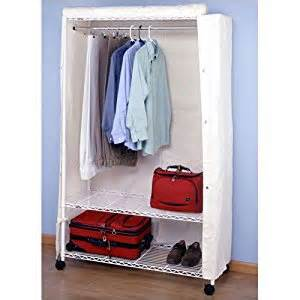 heavy duty garment rack with wheels cover