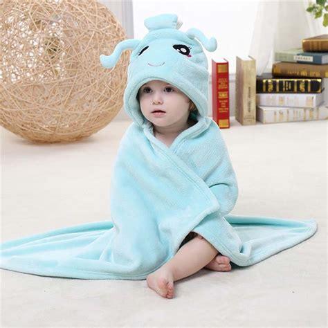 Selimut Baby Hoodie Blanket light blue flannel aquarius baby hoodie blanket n10385