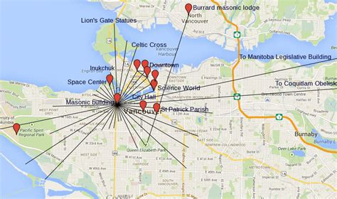 ley lines canada map recreating balance decoding the grid vancouver