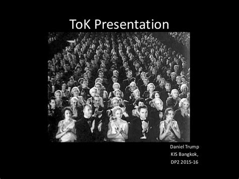 Tok Presentation Ppt Tok Presentation Ppt