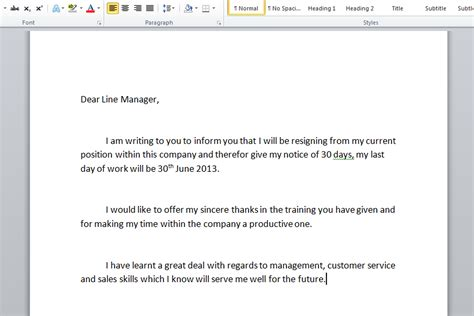 How To Write Resignation Notice by How To Write A Resignation Letter With Sle Resignation Letters