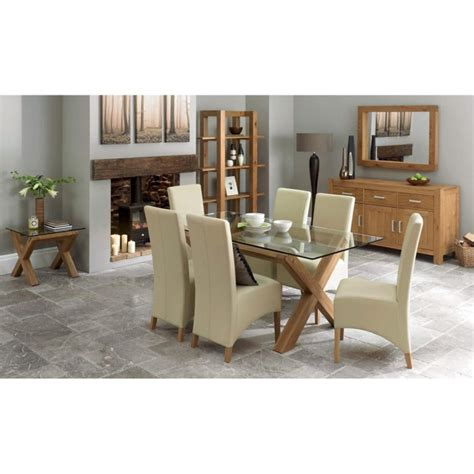 woodumi 2 seat oak and glass dining table bentley designs lyon oak 4 seater glass top dining table furniture123