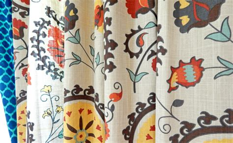 world market suzani curtains colorful graphic living room drew alice