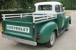 1954 chevrolet two tone truck