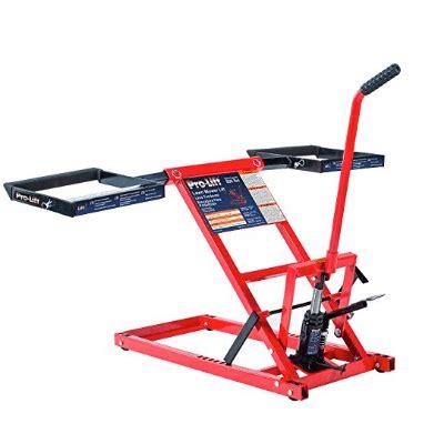 lawn mower repair lift table lawn mower repair lift table review hoist now