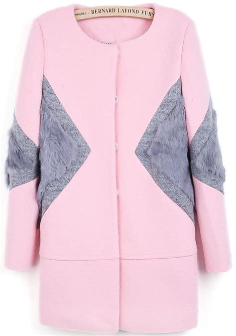 Jacket Muffler Pink the 25 best rabbit fur ideas on rabbit fur