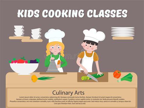cuisine d enfant cuisinier d enfants d affiche de cours de cuisine d