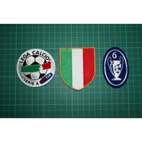 Italian League Serie B Badges italian league scudetto serie a and 6 times trophy badges 2004 2005