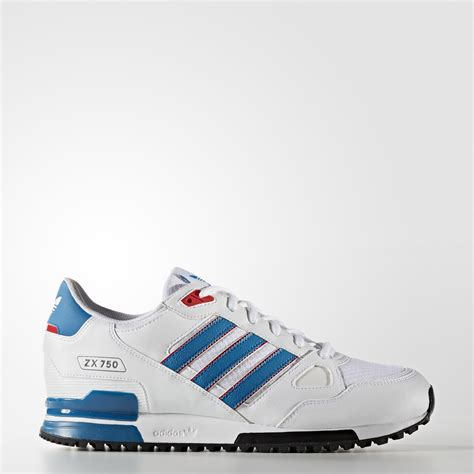 Adidas Zx 750 Blue White adidas zx 750 shoes white adidas uk