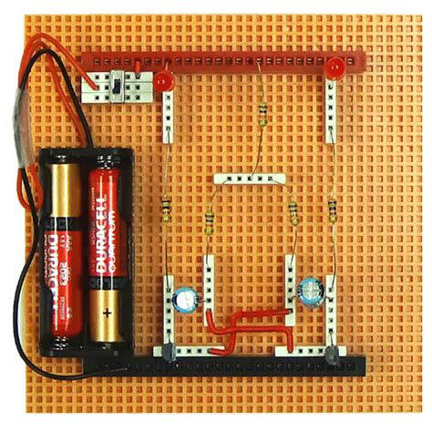 5eboard how to make led lights blink stem eai education