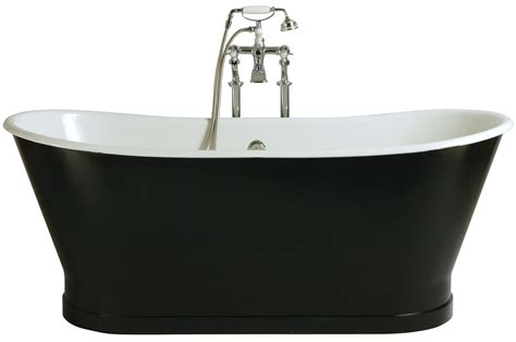 Shower Bath Panel heritage madeira freestanding cast iron double ended bath