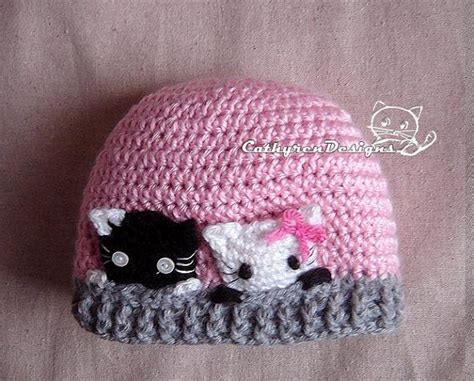 Sweety Safe And Soft New Born Nb52 crochet baby hats curious kitties hat new born