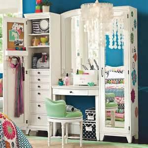 Makeup Vanity Table Pbteen Pbteen Room Storage Vanity Image 316020 On
