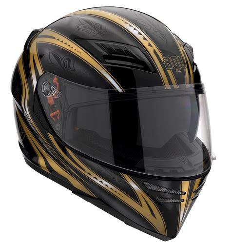 Helm Agv Stealth agv stealth sv multi florence helmet helm black gold size xl 50 top ebay