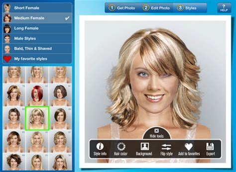 free virtual hairstyles for women over 50 search results