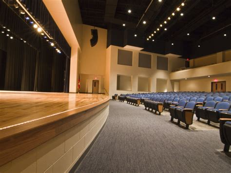 auditoriums theatres stage front  systems