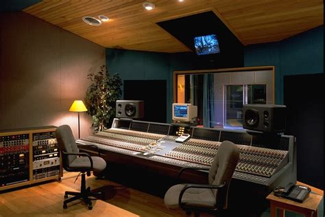 recording studio design on home recording