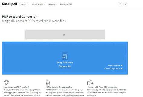 convert pdf to word online small pdf 100 gratis online pdf naar word converteerder inclusief nitro