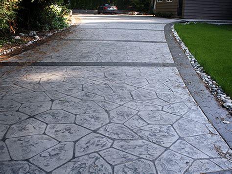 concrete driveway layout design concrete driveway designs home design