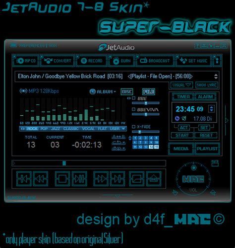 jet audio jet audio super black by d4fmac on deviantart