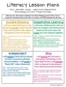 mrs jones literacy lesson plans for her 2nd grade amp a