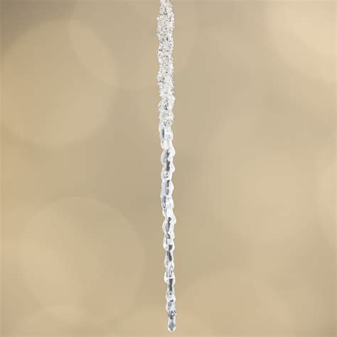 large beaded acrylic icicle ornament christmas ornaments