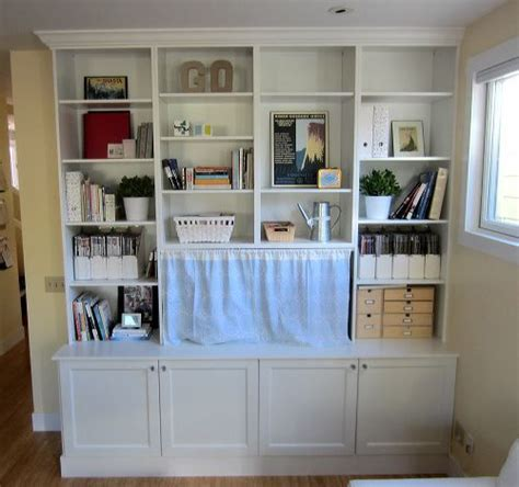 the great wall of ikea makely ikea besta cabinetry made into a built in something like