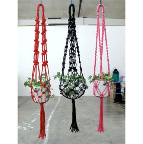 Blumenampel Selber Machen Hangekorb Das Handwerk Im Stil Der 1970 Er Die Makramee Dekoration