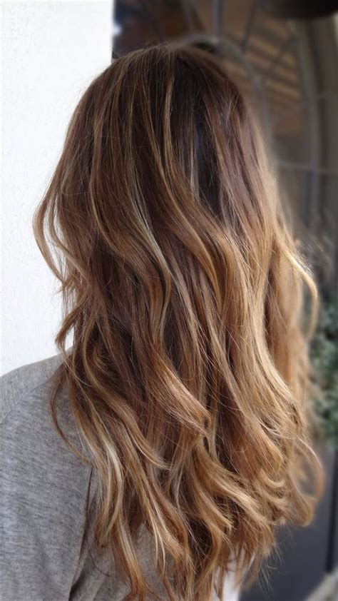 rown hair with blonde ends how to get natural waves brown hair with blonde subtle