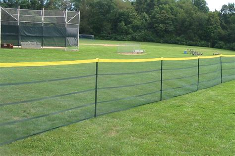 temporary fence grand slam portable fence deluxe