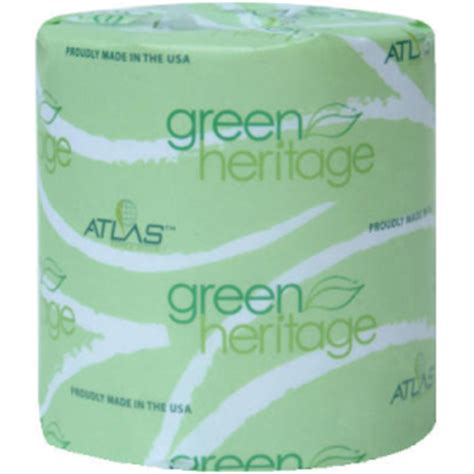 Tissue Towel Tisu Tebal Tangan See U atlas paper mills green heritage toilet tissue individually wrapped 2 ply 400 roll apm248