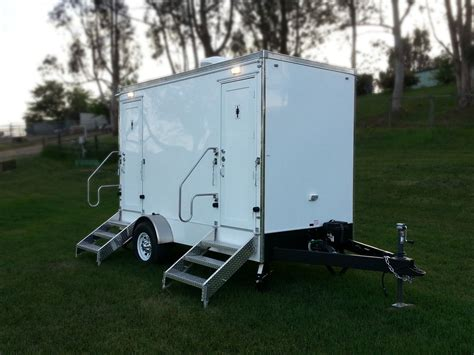 trailer bathrooms rentals fancy flush luxury portable restroom trailer rental 707