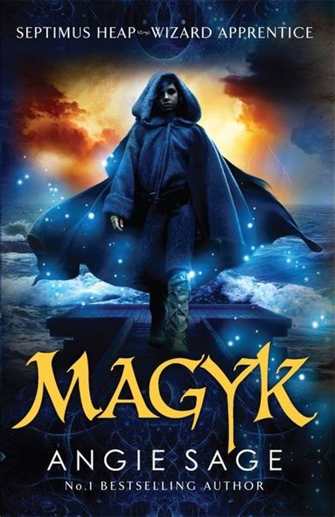 magyk septimus heap book  rejacketed angie sage